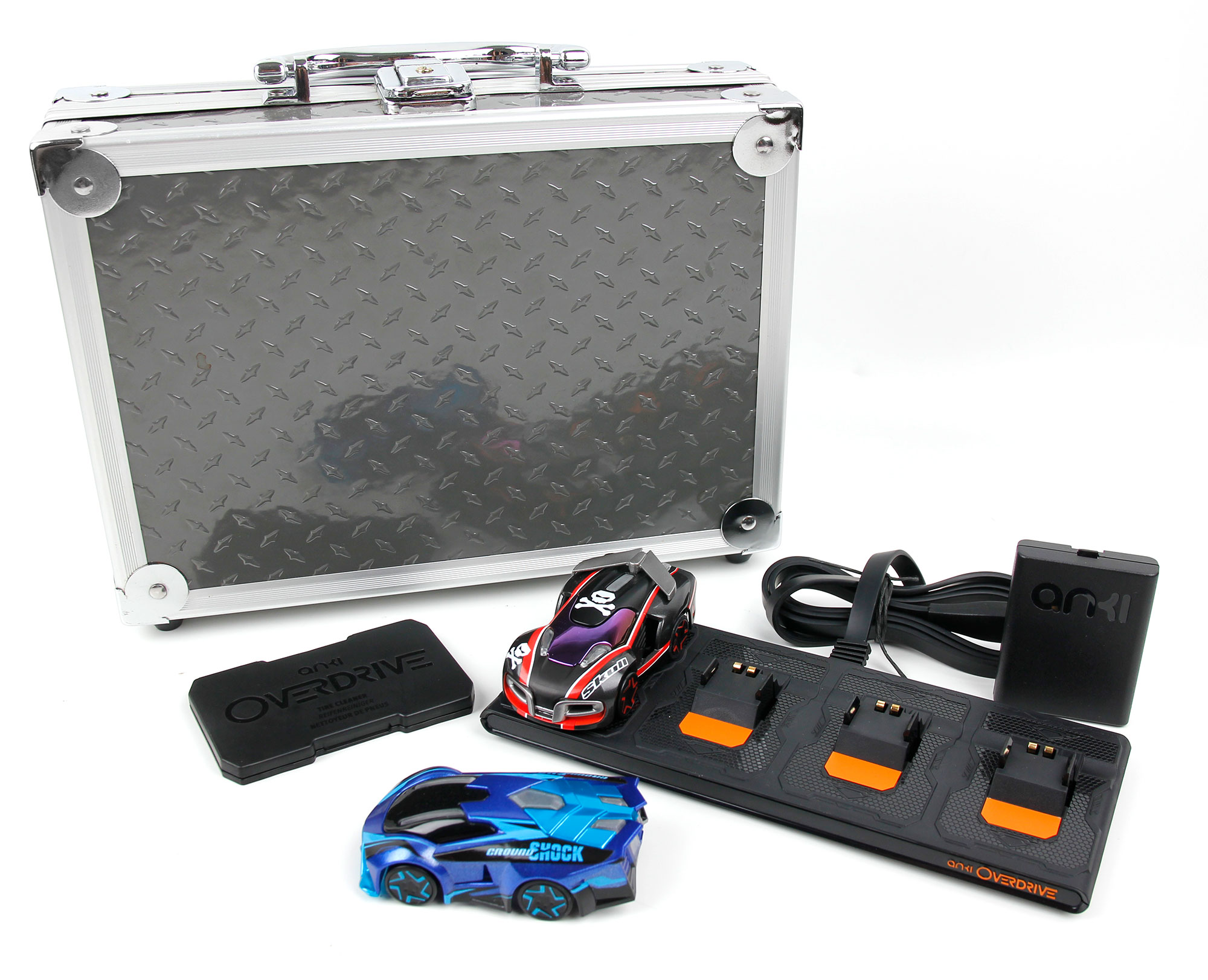 Compatible with The Anki Overdrive Cars /& Expansion Car Toys DURAGADGET Aluminium EVA Case with Customizable D.I.Y Foam Interior